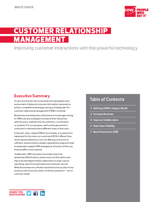 CDW White Paper TOC_Page_1