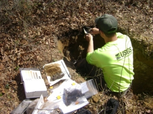 USGS geologist
