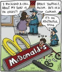 comma humor